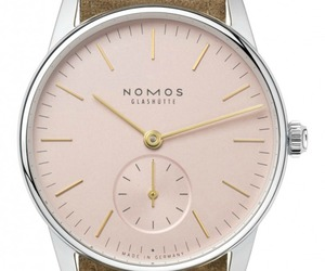 Nomos Glashutte Orion 33 Rose - Ladies Timepiece