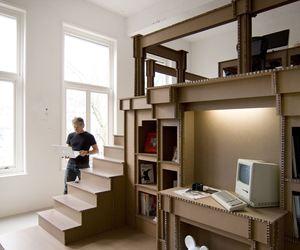 Nothing Cardboard Office Interior