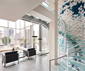 $45 Million Skyloft Penthouse by Carpenter Design Associates