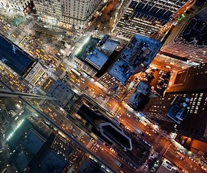 NYC Intersections at Night by Navid Baraty
