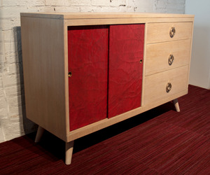 Oak & Porcelain Sideboard by Omforme
