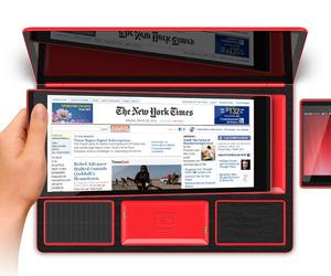 Obento Note Laptop Tablet Hybrid by Rene Lee