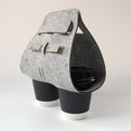 Objectify Tota Coffee Cup Carrier - Deluxe