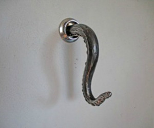 Octopus Tentacle Bathroom Towel Hook