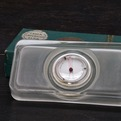 Odd Architects Gift: Vintage Glass Temperature Slab
