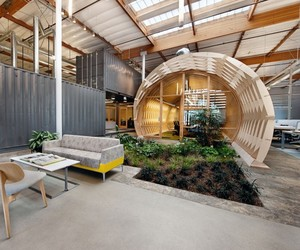Office Space Blends Creativity With Indoor Green