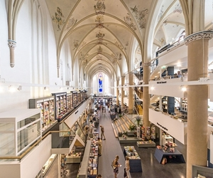 Old Cathedral Turned Into Modern Bookstore