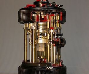 Oldest known Pocket Calculator CURTA had 605 parts