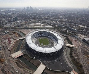 Olympic Stadium Completed in Record Time