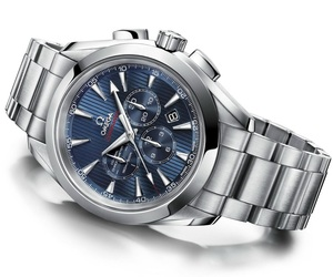 Omega Seamaster Aqua Terra 44 London Chronograph Watch