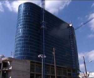 Omni Dallas Hotel celebrates topping out ceremony