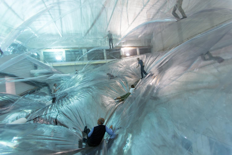 On Space Time Foam By Tom 225 S Saraceno Hangarbicocca