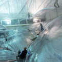 On Space Time Foam by Tomás Saraceno @HangarBicocca