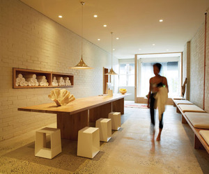One Hot Yoga in Melbourne by Robert Mills Architects