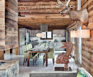 One Oak Chalet in Combloux, the French Alps
