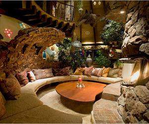 One-Of-A-Kind Circular Mushroom House