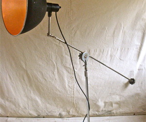 One of a Kind Vintage Industrial Floor Lamp