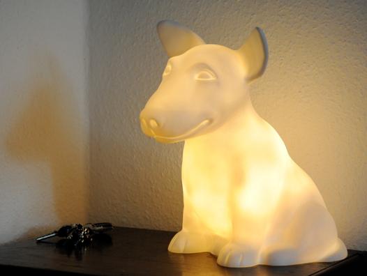 Onion Bull Terrier Dog Light