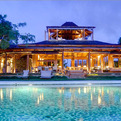 Opium Villa on the Caribbean island of Mustique