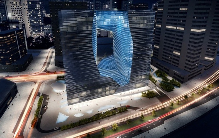 Opus Office Tower Concept By Zaha Hadid