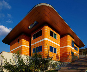 Orange House by Yazgan Design Architecture