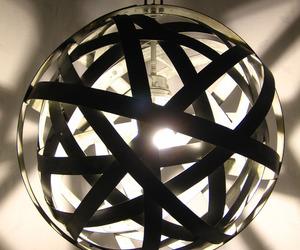 Orbits recycled wine barrel metal hoops urban chandelier
