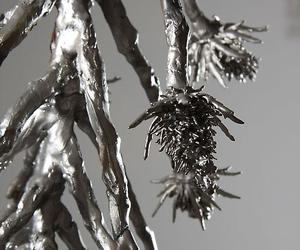 Organic Steel Sculptures by Carolyn Ottmer