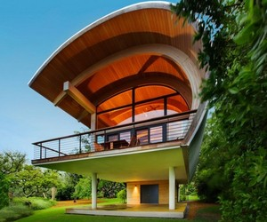 Original Architectural Geometry: Casey Key House in Florida