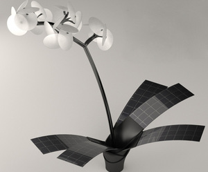 Orkys – Solar Powered Orchid Light