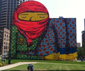 Os Gemeos 'Giant' Installation