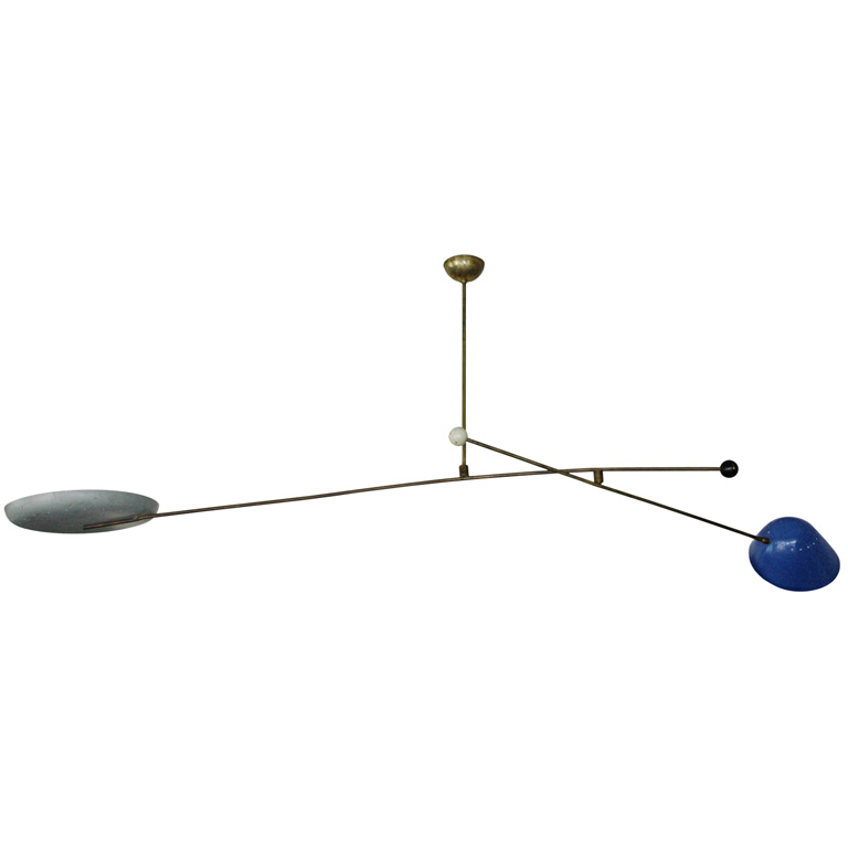 Oscar Torlasco Counter-Balance Ceiling Light For Lumi