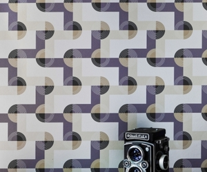 OSKAR Digital Metallic-Effect Wallpaper by KISMET