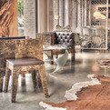 Ostentatious Birchwood Furniture by Werner Neumann