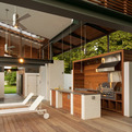 Outdoor Kitchen by McInturff Architects