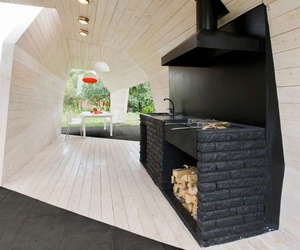 Outdoor Kitchen by Zabor