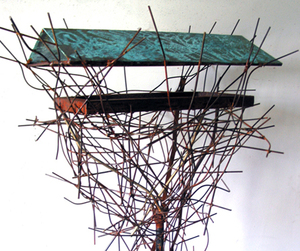 Outdoor Sculpture For Birds and Other Living Things