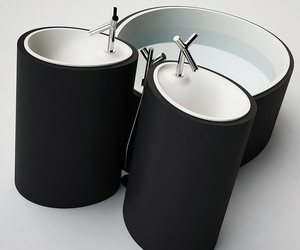 OVO SPA: Modern Matte Velvety Bathtubs and Washbasins.