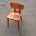 Oxbow Chair by Ivory Bill Furniture