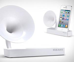 Ozaki iSuppli Gramo | iPhone Charger & Speaker