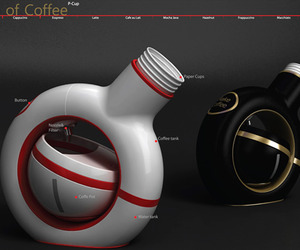 P – Cup Coffee Dispenser Machine