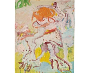 Pace Showcases Avant-Garde Artwork by Willem de Kooning