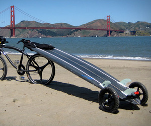 Paddle and Surfboard Trailer