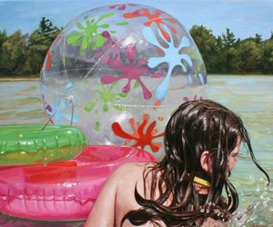 Paintings by Laura Sanders