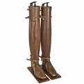 Pair of Antique French Riding Boot Stretchers at Relique