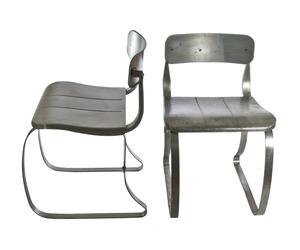 Pair of Vintage Herman Sperlich Metal Ironrite Health Chairs