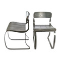 Pair of Vintage Herman Sperlich Metal Ironrite Health Chairs