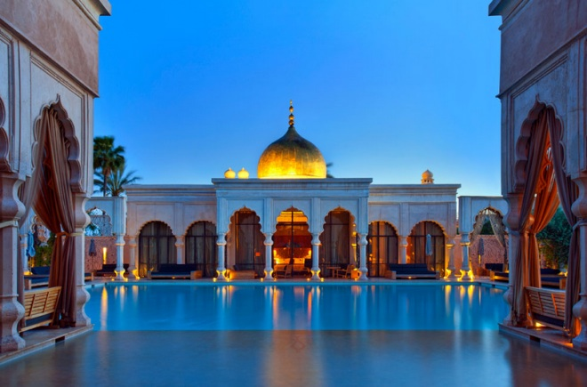 Palais namaskar hotel in marrakesh morocco for Hotel design marrakech