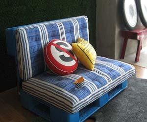 Palet Sofa : Recycle Furniture Design