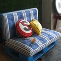 Palet Sofa : Recycle Furniture Design