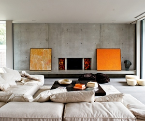 Palette of Raw Materials for Sorrento Beach House